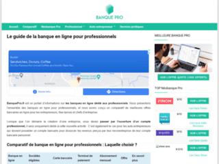Le comparatif de banques en ligne pour les professionnels