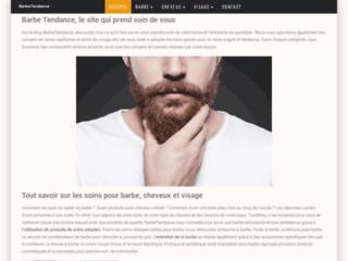 Barbe Tendance, produits cosmétiques naturels pour hommes