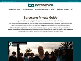 Visite guidée à Barcelone en français