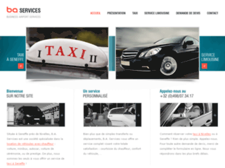 Taxis Nivelles - B.A. Services