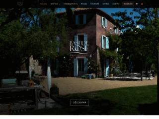 Le domaine de la Bastide Rose – Maison d'hôtes proche de l'Isle-sur-la-Sorgue