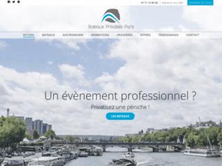 Bateaux privatisés à Paris