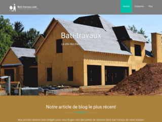 Bati-travaux, travaux d'aménagement d'intérieur