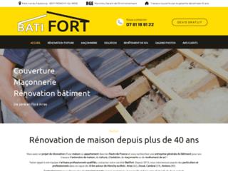 Batifort travaux de rénovation à Arras