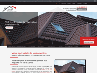 Entreprise de maçonnerie générale à La Roquette-sur-Var, Vence