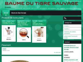 Détails : Grossiste baume du tigre sauvage