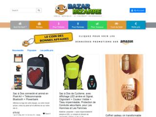 Détails : Bazar Bizarre, une boutique en ligne extraordinaire à découvrir