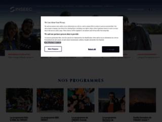 Détails : BBA INSEEC – École de commerce européenne