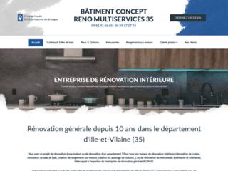 Rénovation intérieure : BCRM 35 en Ille-et-Vilaine