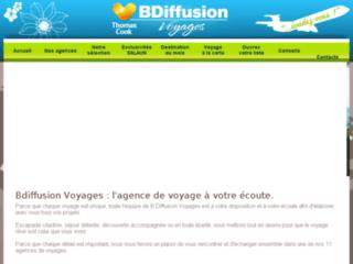 B-Diffusion Voyages, votre agence pour des séjours inoubliables