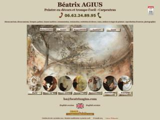 Détails : Béatrix Agius - Peintre en décors et trompe-l'oeil
