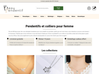 Bijoux en argent pour femme