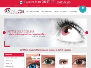 Détails : Lentille de couleur, lentilles fantaisie
