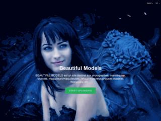 portail web pour trouver des mannequins et créer votre curriculum vitae