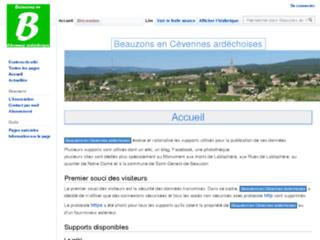 Beauzons en Cévennes d'Ardèche