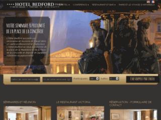 Détails : Hôtel Bedford, luxe, charme et tranquillité