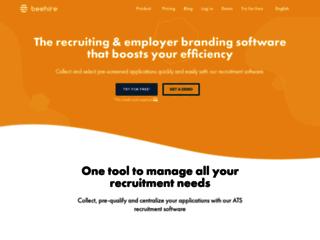Détails : Beehire, logiciel de recrutement