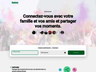 Beeso réseau social afro participatif
