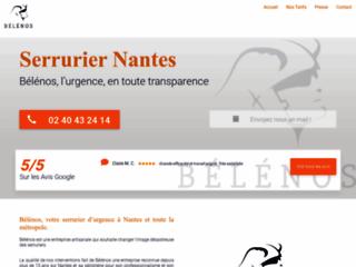 Bélénos : votre serrurier à Nantes en urgence