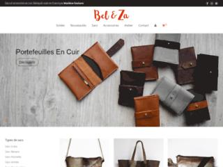 Bel & Za - Maroquinerie artisanale