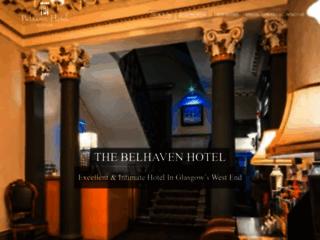 Détails : Hôtel Belhaven à Glasgow en Écosse