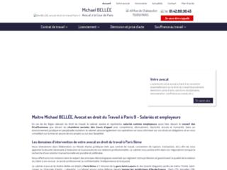 Détails : Maître Michael BELLÉE, Avocat en droit du Travail à Paris 9