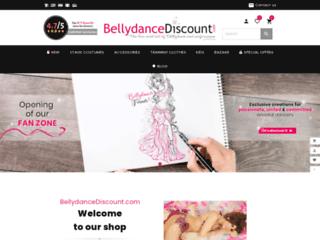 BellydanceDiscount.com : Vente en ligne de tenues de danse orientale à prix discount