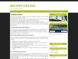 Détails : Belote en ligne gratuite