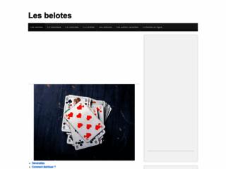 Détails : Règles de la belote