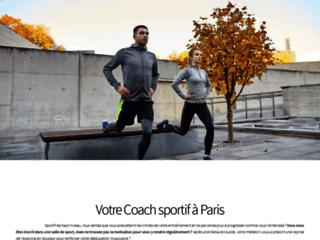 Détails : Plateforme de réservation en ligne des services du coaching sportif