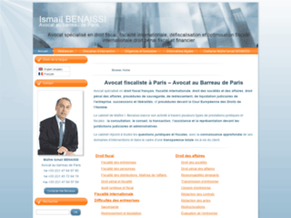 Détails : Maître Ismaïl Benaissi, avocat à Paris