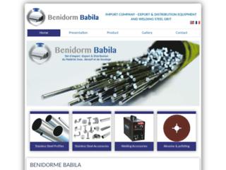Benidorm babila - Inox maroc - Profilés Inox Maroc