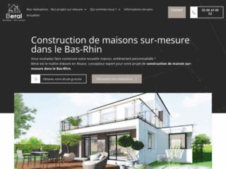 BERAL : Des solutions sur mesure pour construire la maison de votre rêveen Alsace !