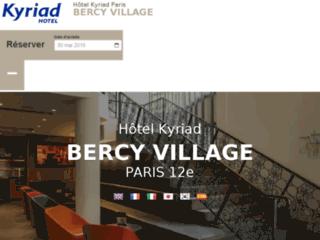 Détails : Hôtel Kyriad Bercy Village, à Paris 12