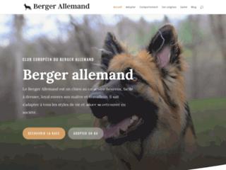 Détails : Berger Allemand, tout savoir sur le berger allemand