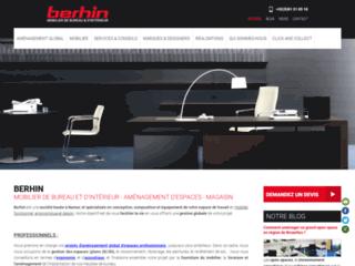 Détails : Berhin, meubles et aménagement mobilier pour professionnels