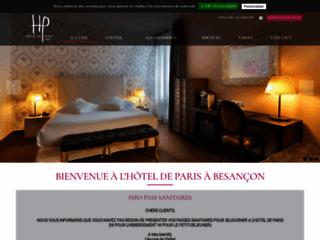 Détails : Hôtel de Paris, hôtel de charme au centre de Besançon