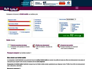 Détails : Comparateur de forfaits mobile