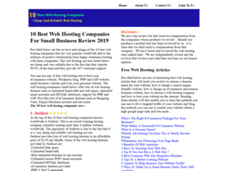 Website's thumnail : Best Web Hosting Companies