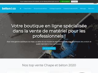 Béton and Co, spécialiste du matériel pour chape béton
