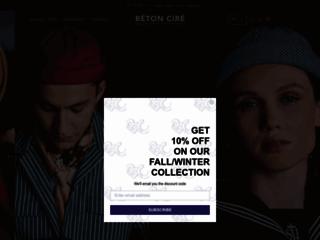 Détails : Bien choisir un chapeau avec Béton Ciré