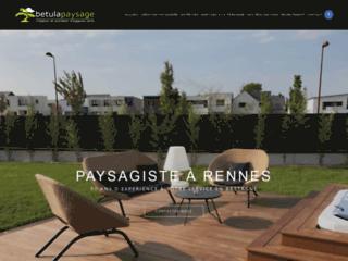 Betula Paysage, le spécialiste de l'aménagement d'espaces verts