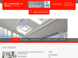 Détails : BG Conseil, l'expert de la fenêtre de toit Vélux & de volets roulants
