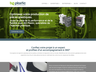 BG Plastic, moulage par injection
