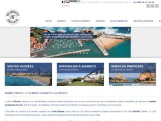 Détails : Immobilier et services personnalisés aux touristes à Biarritz