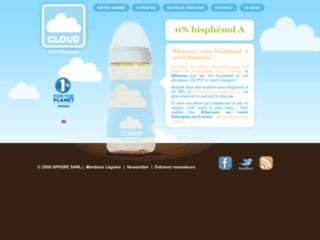 Détails : Biberons Cloud sans bisphénol A