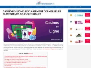 Bibliosesame.fr, guide des plateformes de jeu en ligne