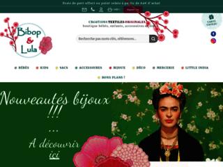Détails : Bibop et Lula // créations textiles originales