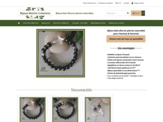 Bijoux Martin Créations bijoux bien être en pierres naturelles