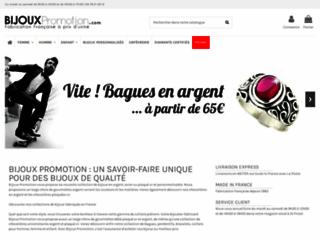 Bijoux Promotion, des centaines de bijoux à portée de clic